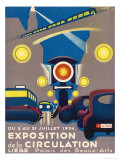 Poster for the Exposition de la Circulation Held at Liege Belgium