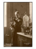Marie Curie Physical Chemist in Her Laboratory