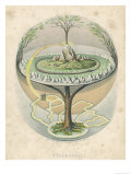 Buy Yggdrasil the Sacred Ash the Tree of Life the Mundane Tree of Norse Mythology at AllPosters.com