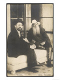 Anton Chekhov Russian Writer with Leo Tolstoy