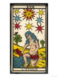 Buy Tarot: 17 L'Etoile, The Star at AllPosters.com