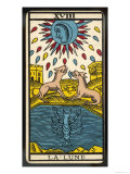 Buy Tarot: 18 La Lune, The Moon at AllPosters.com
