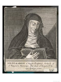 Saint Hildegard Von Bingen German Religious Founder and Abbess of Convent of Rupertsberg