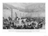 The Impeachment of President Andrew Johnson the High Court of Impeachment in Session