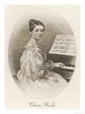 Clara Schumann Nee Wieck German Musician Wife of Robert Schumann as a Young Woman