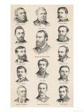 The Leaders of the Irish Parliamentary Party Including Charles Stewart Parnell