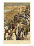 Buy Jesus Preaches the Sermon on the Mount at AllPosters.com