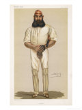 Full Length Illustration of W G Grace