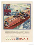 Advertisement for Dodge Boats