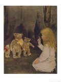 Buy Goldilocks Gives Three Teddy Bears a Talking-To at AllPosters.com