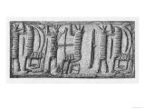 Demons Depicted on a Babylonian Cylinder Seal