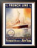French Line, Plymouth to New York