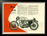 British BSA Manx 30 40 Motorcycle
