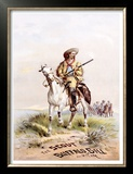 Buffalo Bill's Wild West, The Scout Framed Art Print
