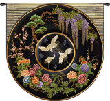 Cloisonne Jet Wall Tapestry