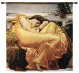 Flaming June Wall Tapestry