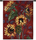 Sunflowers I Wall Tapestry