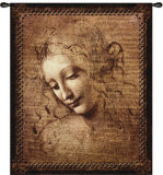 Female Head Wall Tapestry
