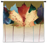 Leaf Dance Wall Tapestry