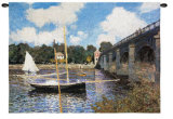 Bridge at Argenteuil Wall Tapestry
