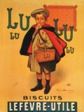 Lu Lu Biscots Tin Sign