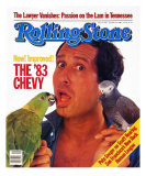 Chevy Chase, Rolling Stone no. 406, October 1983