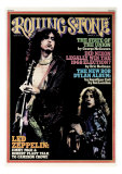 Jimmy Page and Robert Plant, Rolling Stone no. 182, March 1975 Photographic Print