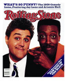 Jay Leno and Arsenio Hall, Rolling Stone no. 564, November 1989