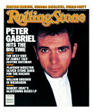 Peter Gabriel, Rolling Stone no. 492, January 1987