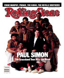 Paul Simon and Ladysmith Black Mambazo, Rolling Stone no. 503, July 1987