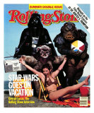 Cast of Return of the Jedi, Rolling Stone no. 400/401, July 1983