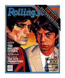 Mick Jagger and Keith Richards, Rolling Stone no. 324, August 1980