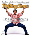 Robin Williams, Rolling Stone no. 520, February 1988
