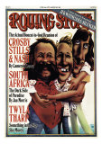 Crosby, Stills and Nash, Rolling Stone no. 240, June 1977 Photographic Print