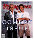 Johnny Carson and David Letterman, Rolling Stone no. 538, November 1988