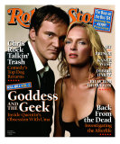 Quentin Tarantino and Uma Thurman, Rolling Stone no. 947, April 2004