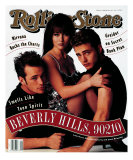 Cast of Beverly Hills 90120, Rolling Stone no. 624, February 1992