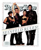 Cast of Seinfeld, Rolling Stone no. 660/661, July 1993