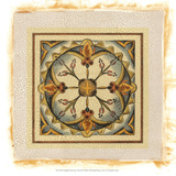 Crackled Cloisonne Tile III