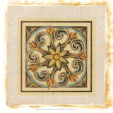 Crackled Cloisonne Tile II