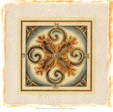 Crackled Cloisonne Tile VI