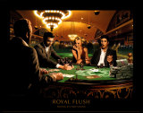 'Royal Flush' Poster Print