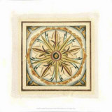 Crackled Cloisonne Tile I