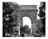 Washington Square Arch, Greenwich Village New York Photographic Print