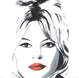 Bardot Art Print