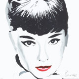 Audrey Art Print