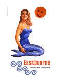 Eastbourne, Suntrap of the South, BR Poster, 1961