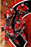 Ottawa Senators (Daniel Alfredsson, Dany Heatley, Jason Spezza, Wade Redden)