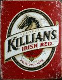 Killians Irish Red Tin Sign
