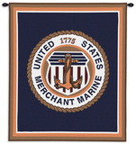 Merchant Marine Ensemble Wall Tapestry